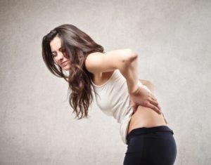 Woman Backache