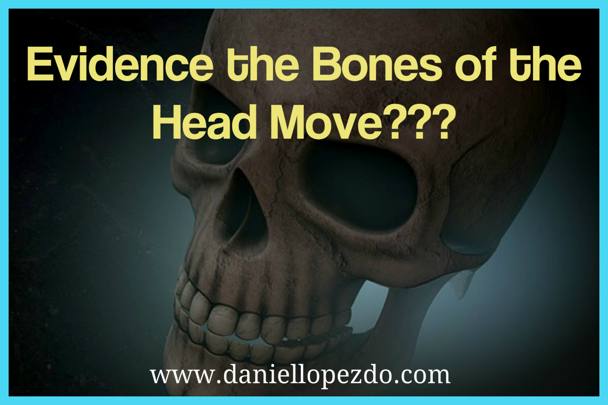 Evidence the Bones of the Head Move???