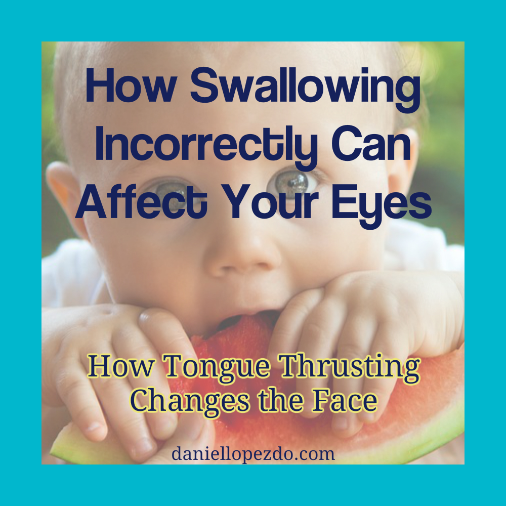 How Swallowing Incorrectly Can Affect Your Eyes